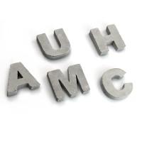 Beton-Buchstaben 'myletters' (Höhe: 2cm)